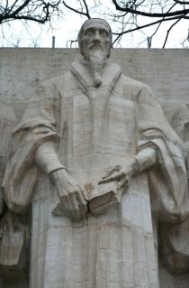 Calvin Statue